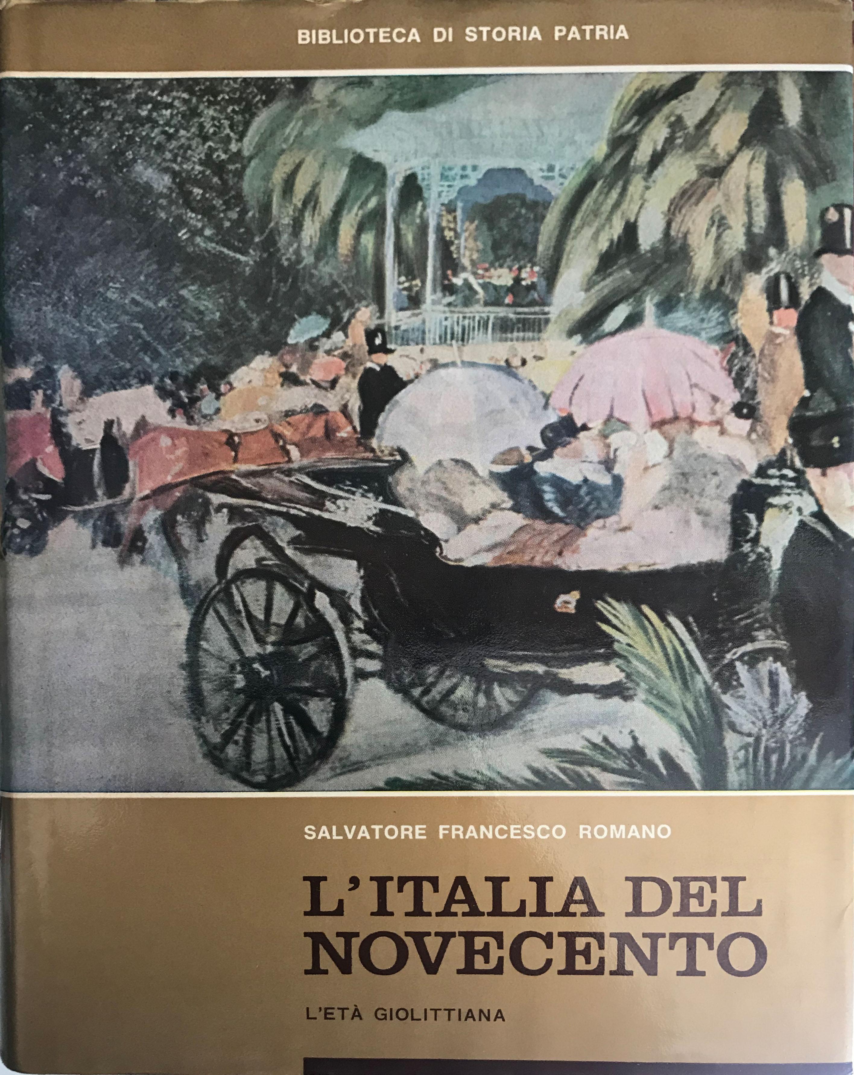 L'Italia del '900 – Biblioteca di storia Patria