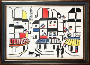 Sante Monachesi – Parigi imbandierata
