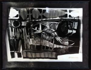 Giuseppe De Gregorio – Natura morta con fossile
