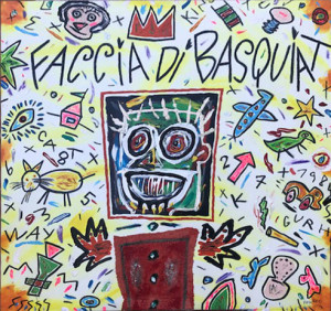 Bruno Donzelli – Faccia di Basquiat