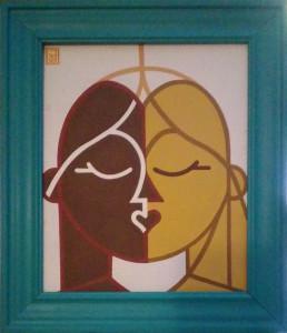 Salvatore Amedei – Dama e il bacio