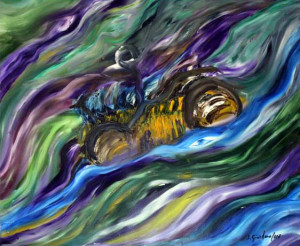 Salvatore Giordano – Corsa nella tempesta