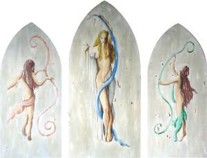 Patrizia Buzzi – Trittico muse della danza