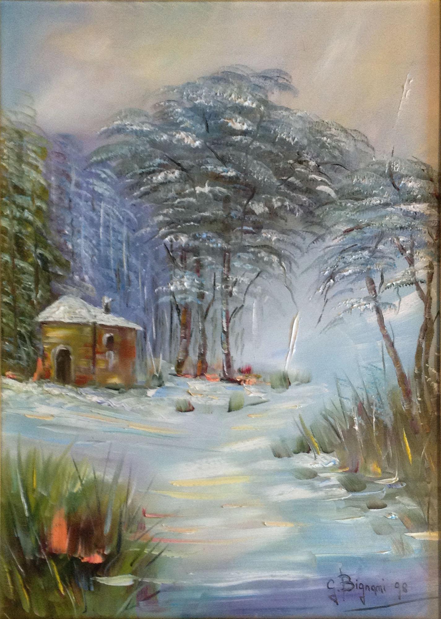 Gianni Bignami – Bosco d'inverno