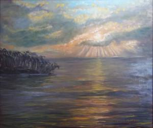 Cesare Galli – Tramonto alle bahamas