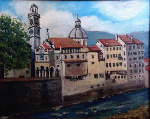 Cesare Galli – Vista sul fiume