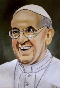 Pietro Moretta – Papa Francesco