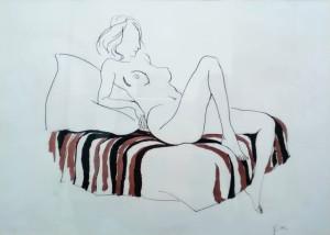 Renato Guttuso – Nudo femminile