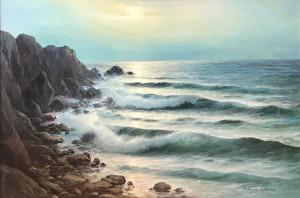 Remo Aldini – Paesaggio marino