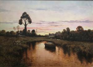 Antonio Sannino – Paesaggio fluviale