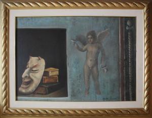 Antonio Sciacca – Maschere e libri