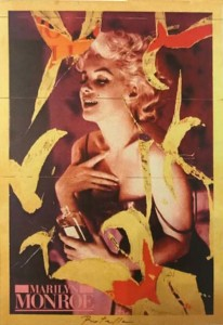 Mimmo Rotella – Marilyn Chanel n° 5