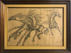 Artista sconosciuto – Cavalli