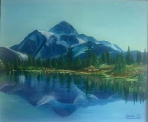 Silvana Curci – La montagna blu