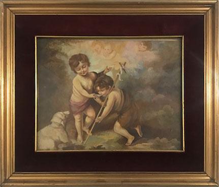 Concetta Calia – Gesù Bambino e San Giovannino