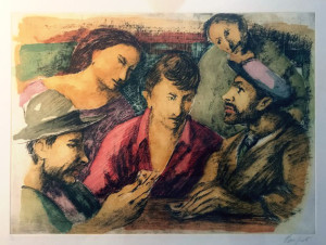 Domenico Purificato – Giocatori di carte
