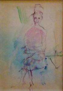 Ernesto Treccani – Studio di donna seduta