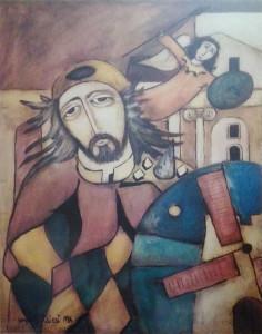 Sergio Baldieri – Paesaggio con volti