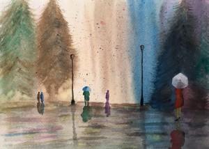 Galletto Elisabetta – Pioggia e colori