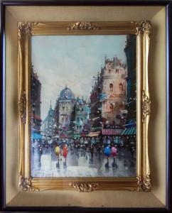 Antonio De Vity – Viste di Parigi