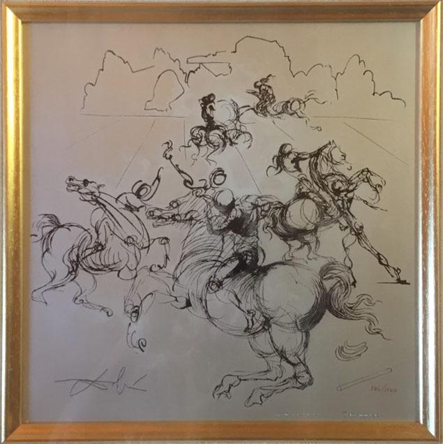 Salvador Dalì – I cavalieri surrealisti