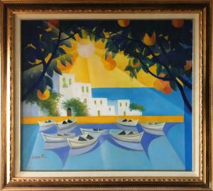 Luigi Fioretti – Paesaggio siciliano