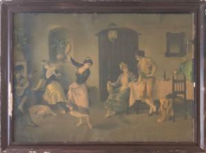 Artista sconosciuto – La vedova allegra