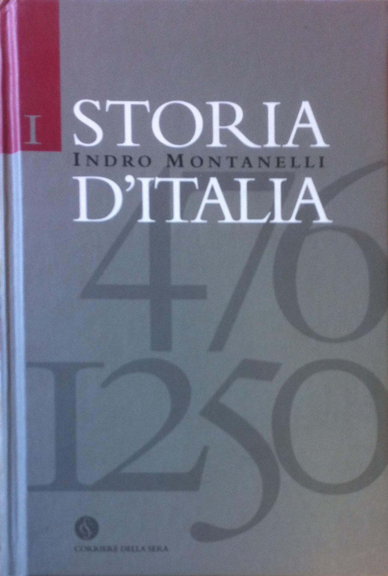 Storia d'Italia di Indro Montanelli – Il corriere della sera
