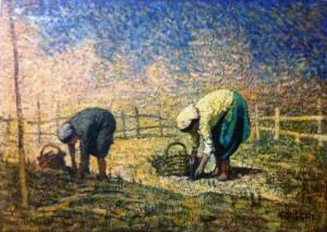 Anchise Picchi – Raccoglitrici di asparagi