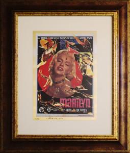 Mimmo Rotella – Marilyn il mito