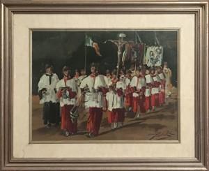 Lorenzo Palazzi – Montenero, processione