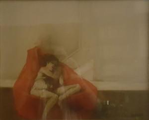 Giovanni Cappelli – Donna su poltrona