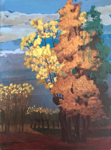 Celestino Gallo – Alberi in autunno