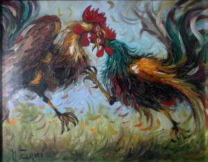 Nino Zagni – La battaglia dei galli