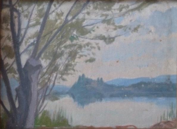 Leonardo Dudreville – Sul lago di Gavirate