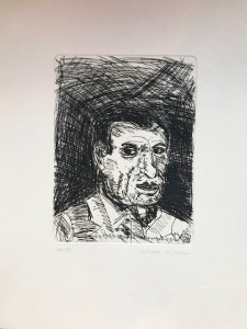 Antonio Ligabue – Ritratto d'uomo