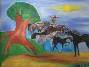 Giorgio Donabello – Messico el gringos e il suo cavallo