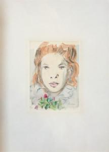 Domenico Purificato – Ritratto di donna
