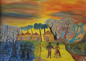 Giorgio Donabello – Villaggio africano