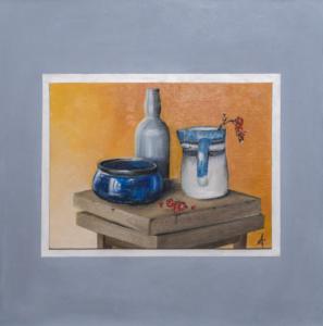 Antonella Cazzagon – Intorno al blu