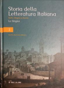 Storia della letteratura italiana – Il sole 24 ore