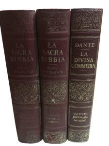 La sacra Bibbia e la divina commedia – Istituto editoriale moderno
