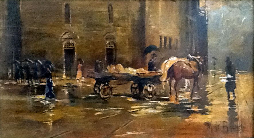 Mosè Bianchi – Firenze