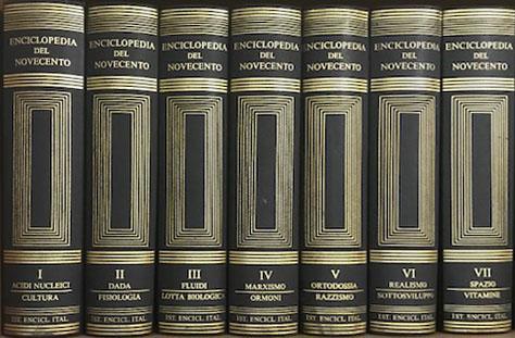 Enciclopedia del 900 – Treccani