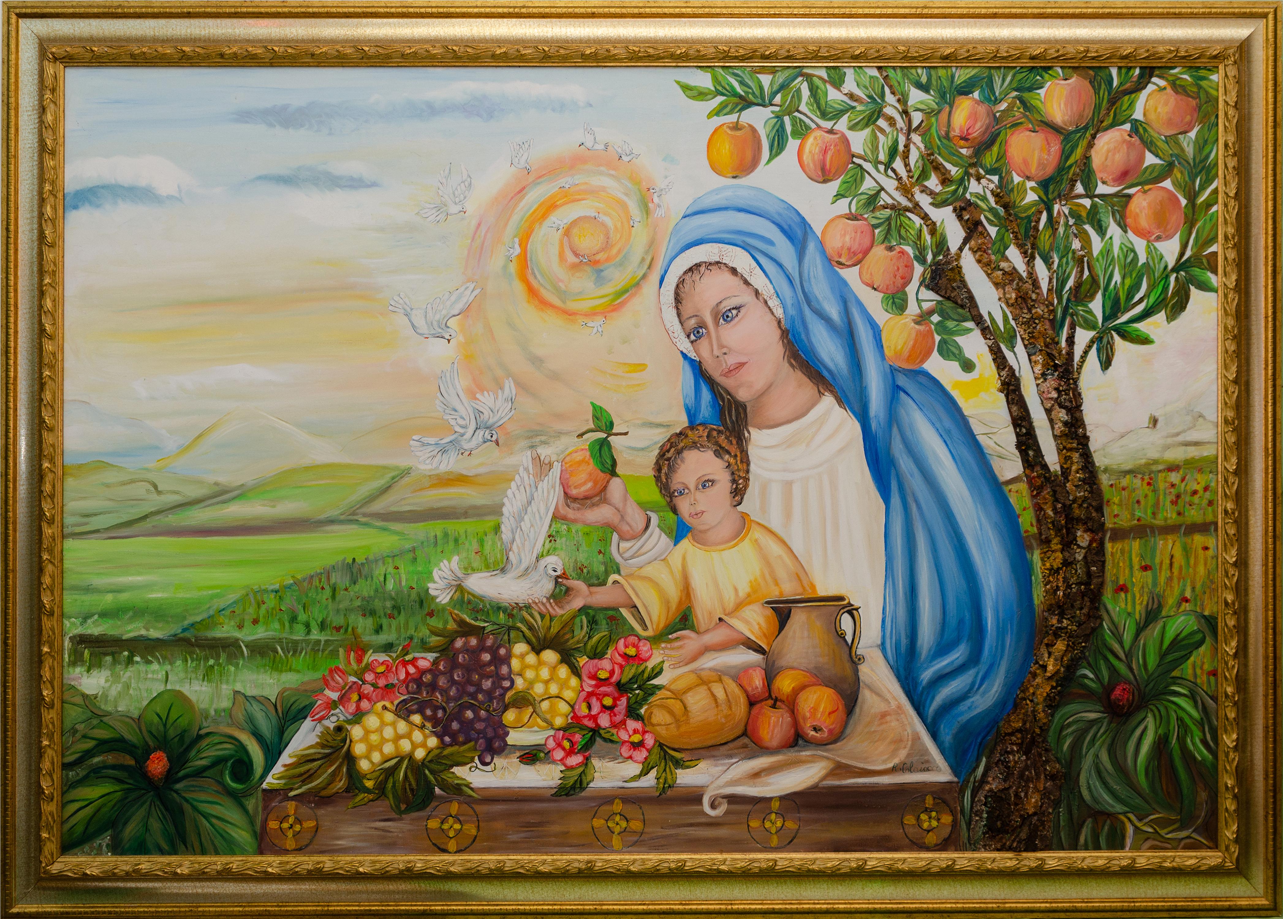 Rita Colaiocco – Madonna con bambino