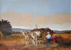 Dario Fattori – Lavoro nei campi