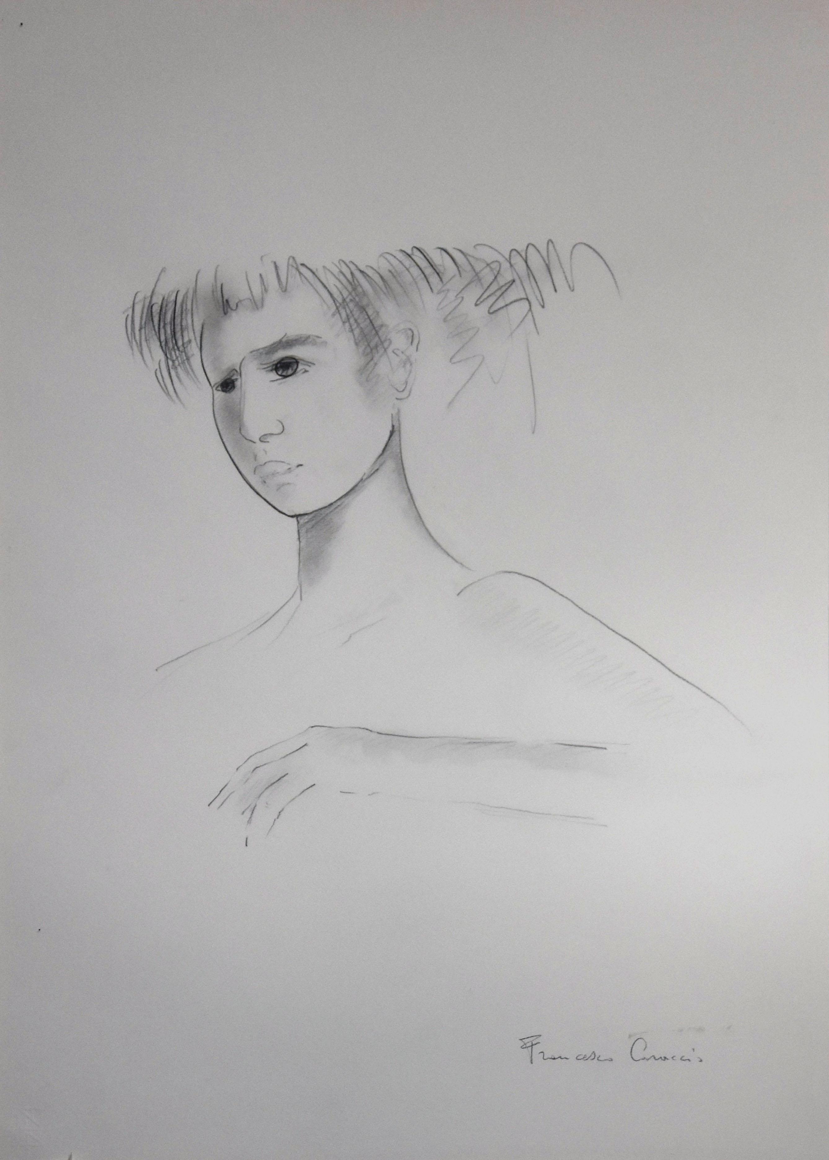 Francesco Caraccio – Ritratto di ragazza