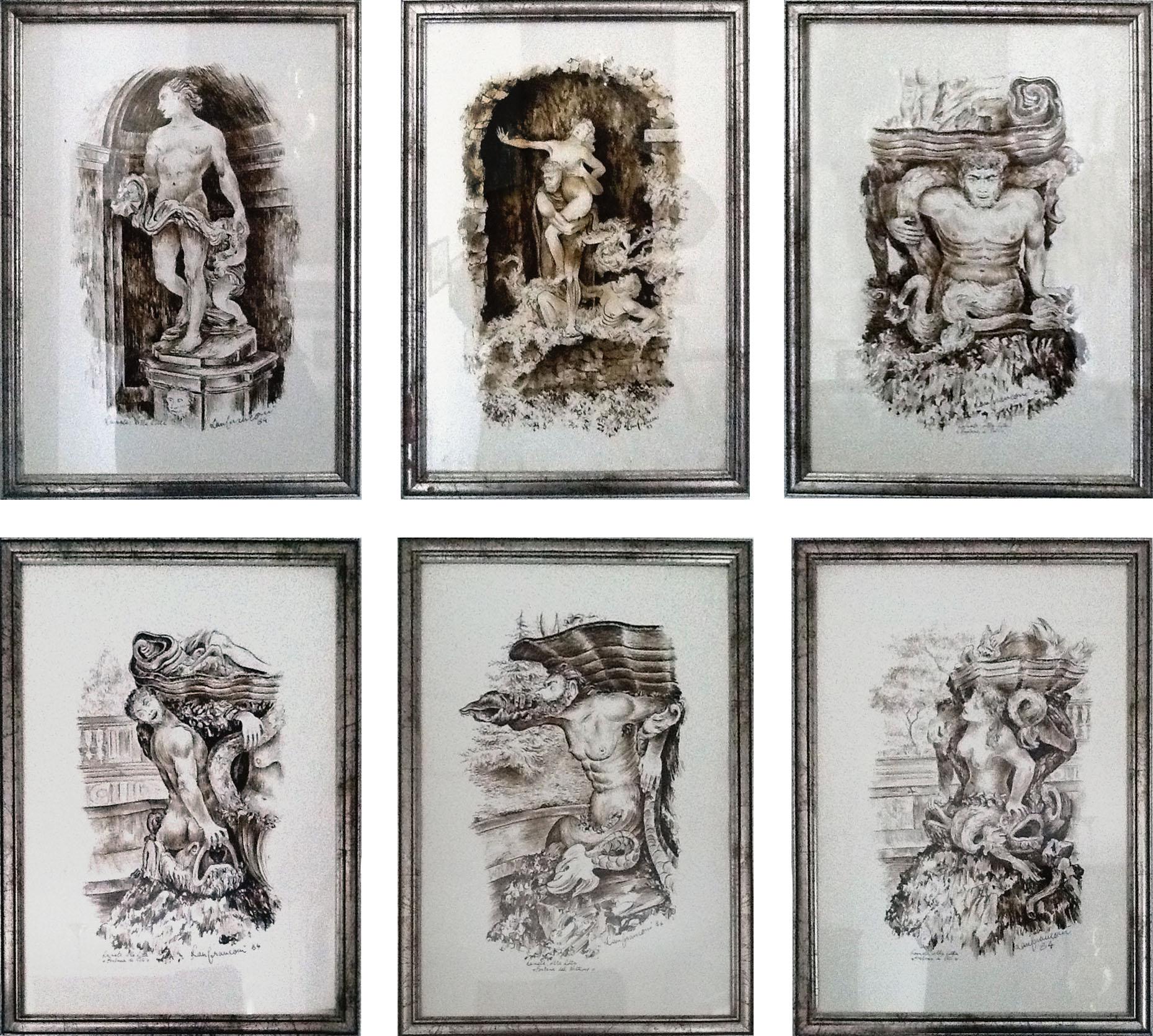 Martino Lanfranconi – Le statue di Villa Litta a Lainate
