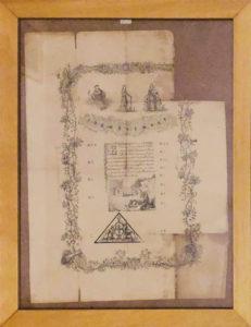 Documento Antico – Proclamazione di Orsini Felice