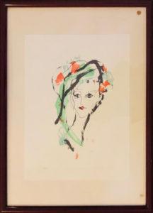 Ernesto Treccani – Donna col cappello